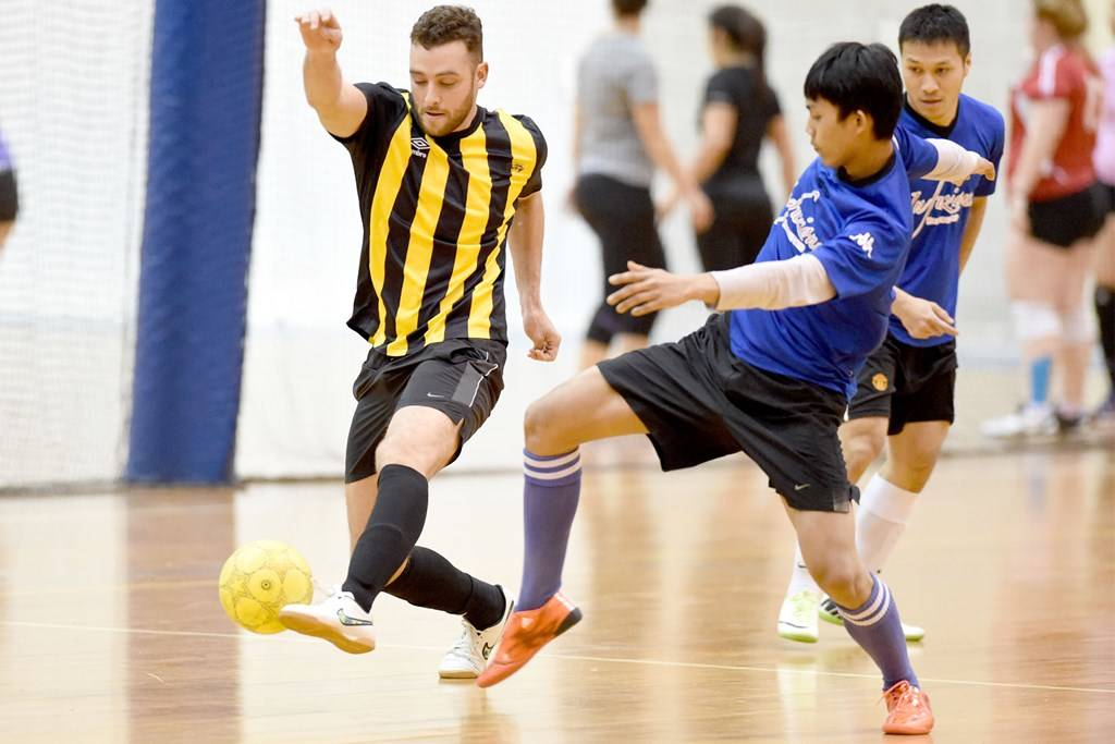 Sports Halls - Senior Futsal Competition - Photography by Delly Carr