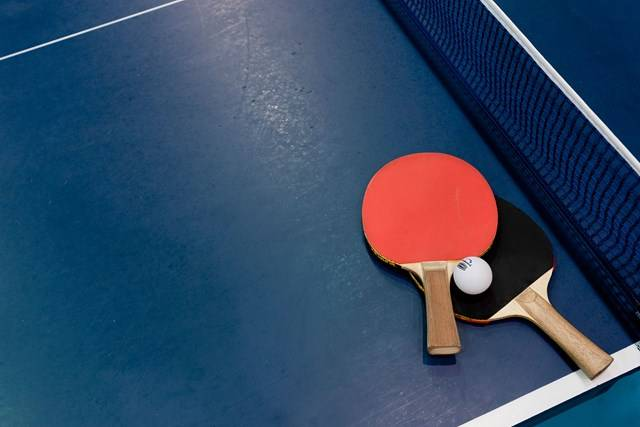 Sports Halls - Table Tennis Equipment - Photography by Ashley Mackevecius