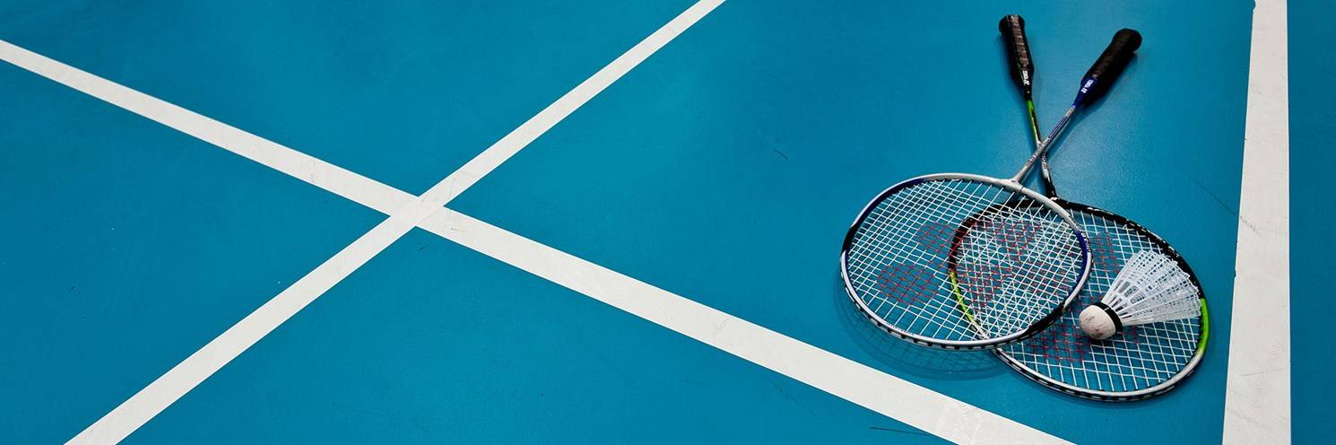 Sports Hall - Badminton Court - Photography by Ashley Mackevicius