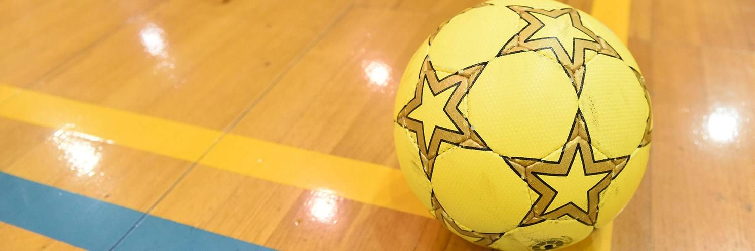 Sports Halls - Futsal Ball - Photography by Delly Carr